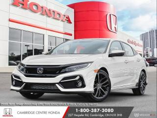New 2021 Honda Civic Sport Touring APPLE CARPLAY™ & ANDROID AUTO™ | HONDA SENSING TECHNOLOGIES | REARVIEW CAMERA for sale in Cambridge, ON
