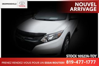 Used 2016 Honda HR-V MAGS 17| CAM RECUL| ENTRETIEN COMPLET CONCESSIONNA for sale in Drummondville, QC