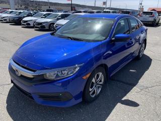 Used 2017 Honda Civic 4 portes, boîte manuelle, LX for sale in Rivière-Du-Loup, QC