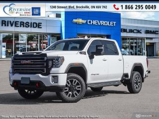 New 2021 GMC Sierra 2500 HD AT4 for sale in Brockville, ON