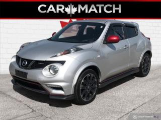 Used 2014 Nissan Juke NISMO / 6-SPEED MANUAL / NO ACCIDENTS for sale in Cambridge, ON