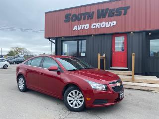 Used 2011 Chevrolet Cruze LT|RemoteStarter|Cruise|Pwr WindowsLocksMirrors for sale in London, ON