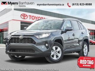 New 2021 Toyota RAV4 XLE  - Sunroof - $217 B/W for sale in Ottawa, ON