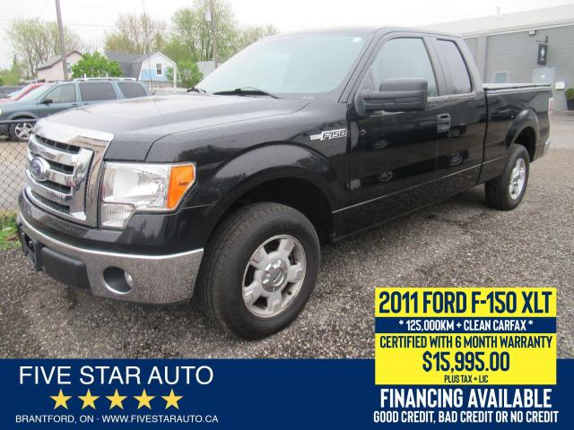 2011 Ford F-150 XLT *No Accidents* Certified w/ 6 Month Warranty