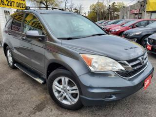 Used 2011 Honda CR-V Sport/EXL/NAVI/CAMERA/LEATHER/ROOF/LOADED/ALLOYS for sale in Scarborough, ON