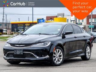 Used 2015 Chrysler 200 C Panoramic Sunroof Bluetooth Backup Camera Heated Front Seats Remote Start 17