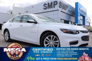 Used 2017 Chevrolet Malibu LT- Pwr Seat, Leather, Remote Start, Back Up Camera for sale in Saskatoon, SK