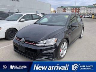 Used 2018 Volkswagen Golf GTI Clean Carfax, Apple CarPlay, Backup Camera for sale in Winnipeg, MB
