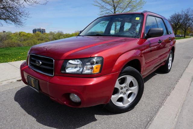 2004 Subaru Forester 1 OWNER / NO ACCIDENTS / LOADED /LEATHER /PANOROOF