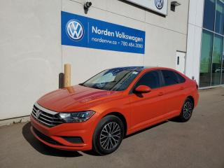 Used 2019 Volkswagen Jetta HIGHLINE W/ DRIVERS ASST PKG - VW CERTIFIED / LEATHER / SUNROOF for sale in Edmonton, AB
