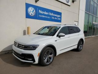 Used 2019 Volkswagen Tiguan HIGHLINE R-LINE W/ TECH PKG + 3RD ROW - VW CERTIFIED! for sale in Edmonton, AB