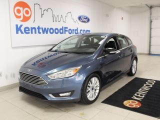Used 2018 Ford Focus Titanium | Hatch | Moonroof | Reverse Camera | Leather for sale in Edmonton, AB