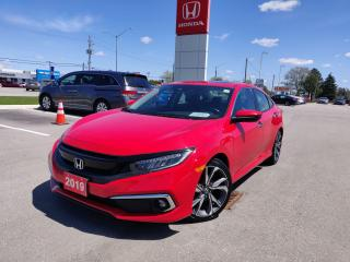 Used 2019 Honda Civic Sdn Touring for sale in Woodstock, ON