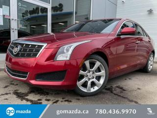 Used 2014 Cadillac ATS 2.0T - LEATHER, HEATED SEATS, BLUETOOTH, SUNROOF, RWD for sale in Edmonton, AB