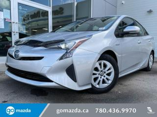 Used 2016 Toyota Prius TECH - HEATED SEATS, BLUETOOTH, BACK UP, PUSH BUTTON AND MORE for sale in Edmonton, AB