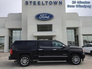 Used 2015 GMC Sierra 1500 DENALI CREW 4X4 W/CAP  - Navigation for sale in Selkirk, MB