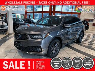 Used 2019 Acura MDX A-Spec AWD - Local / Nav / Sunroof / No Dealer Fees for sale in Richmond, BC