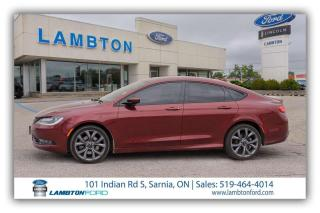 Used 2015 Chrysler 200 S for sale in Sarnia, ON