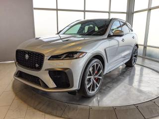 New 2021 Jaguar F-PACE P550 SVR for sale in Edmonton, AB