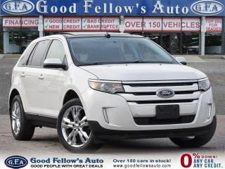 Used 2013 Ford Edge SEL MODEL, NAVI, PANROOF, LEATHER & CLOTH SEATS for sale in Toronto, ON