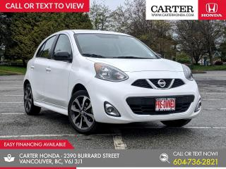 Used 2015 Nissan Micra SR BACK-UP CAMERA + AIR CONDITIONING + BLUETOOTH! for sale in Vancouver, BC
