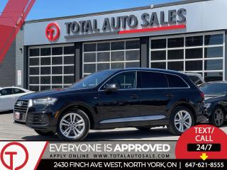 Used 2017 Audi Q7 S-LINE | TECHNIK | 2 SETS OF RIMS for sale in North York, ON