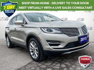 Used 2015 Lincoln MKC AWD Leather/Navi/Roof AWD Leather/Navi/Roof for sale in St Thomas, ON