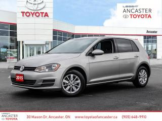 Used 2015 Volkswagen Golf 1.8 TSI Trendline for sale in Ancaster, ON