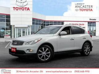 Used 2012 Infiniti EX35 Luxury Immaculate Accident Free Journey Pkg. for sale in Ancaster, ON