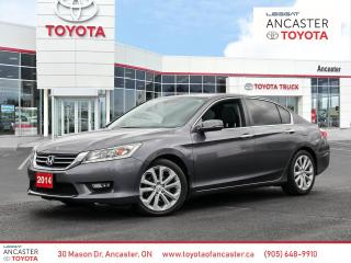Used 2014 Honda Accord Top of the Line **Touring** for sale in Ancaster, ON