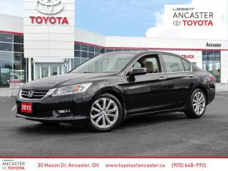 Used 2015 Honda Accord Touring for sale in Ancaster, ON