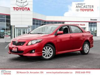 Used 2010 Toyota Corolla Sport 5 speed manual for sale in Ancaster, ON