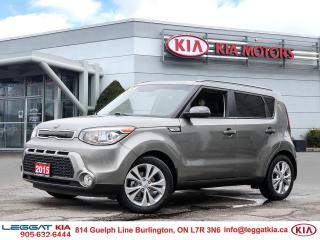 Used 2015 Kia Soul EX+/Heated seats/Back Up Camera/Bluetooth/Clean CarFax for sale in Burlington, ON