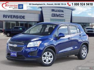 Used 2016 Chevrolet Trax LS for sale in Prescott, ON