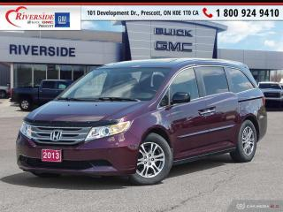 Used 2013 Honda Odyssey EX-L for sale in Prescott, ON