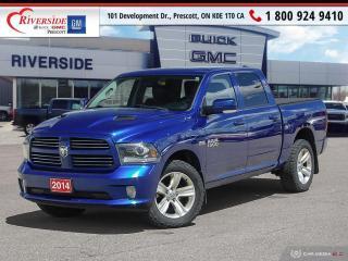 Used 2014 RAM 1500 SPORT for sale in Prescott, ON