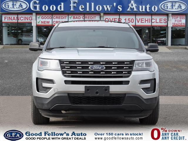 2017 Ford Explorer BASE MODEL, 4WD, 2.3L TURBO 4CYL, 7 PASSANGER