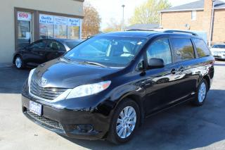 Used 2017 Toyota Sienna LE AWD POWER DOORS for sale in Brampton, ON