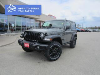 New 2021 Jeep Wrangler SPORT for sale in Perth, ON