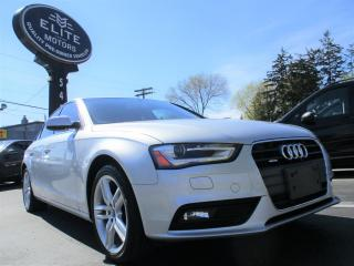 Used 2013 Audi A4 4dr Sdn Auto Premium Quattro for sale in Burlington, ON