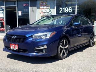 Used 2018 Subaru Impreza 2.0i Sport-tech 5-door Auto w/EyeSight Pkg for sale in Bowmanville, ON