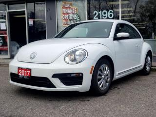 Used 2017 Volkswagen Beetle Coupe 2DR CPE AUTO TRENDLINE for sale in Bowmanville, ON