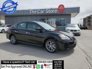 Used 2015 Nissan Sentra SR Navigation Sunroof Heat Seat Rear Cam NO CLAIMS for sale in Winnipeg, MB