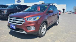 Used 2018 Ford Escape SEL - AWD, HEATED LEATHER, NAV for sale in Kingston, ON