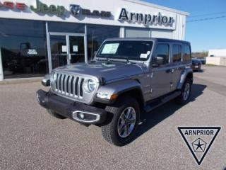 New 2021 Jeep Wrangler Unlimited Sahara for sale in Arnprior, ON