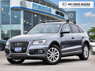 Used 2017 Audi Q5 2.0T Progressiv PANORAMIC ROOF| LEATHER SEATS| ROO for sale in Mississauga, ON