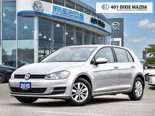 Used 2015 Volkswagen Golf VERY LOW MILEAGE| NO ACCIDENTS| MANUAL TRANSMISSIO for sale in Mississauga, ON