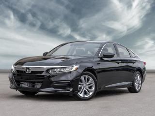 New 2020 Honda Accord Sedan LX CVT for sale in Amherst, NS