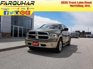 Used 2015 RAM 1500 Laramie Longhorn - Leather Seats for sale in North Bay, ON