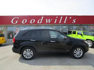Used 2011 Kia Sorento EX! HEATED LEATHER! SUNROOF! NAV! for sale in Aylmer, ON
